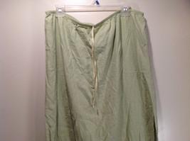 Size XL Katie Lee Light Green Long Skirt Side Slits Stretchy Waist image 3
