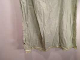 Size XL Katie Lee Light Green Long Skirt Side Slits Stretchy Waist image 5