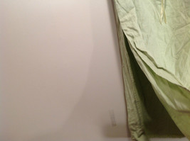 Size XL Katie Lee Light Green Long Skirt Side Slits Stretchy Waist image 4