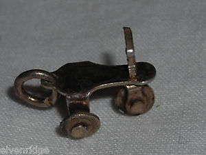 Vintage charm  sterling silver tricycle made Mexico