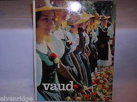 Vintage copy of geography travel book VAUD
