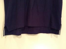 Size XS Nautica Dark Blue 100 Percent Cotton Short Sleeve Collared Polo Shirt image 3