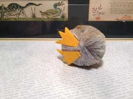 Small Handmade Bird Buri Palm Fiber Brush Decoration Eco Fiber Sustainable image 6