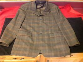 Barneys New York Brown mans coat 23 in W 30 in Long image 4