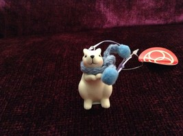 Small Porcelain Squirrel Figurines Different Colored Scarves Sold Separately image 2
