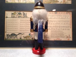 Small Soldier Nutcracker with Movable Arms Eight and a Half Inches Tall image 5