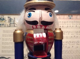 Small Soldier Nutcracker with Movable Arms Eight and a Half Inches Tall image 8