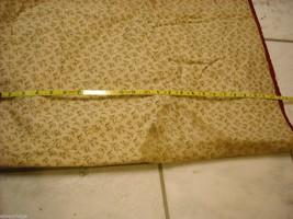Small  antique quilt with silk fabrics diagonal stripes image 5