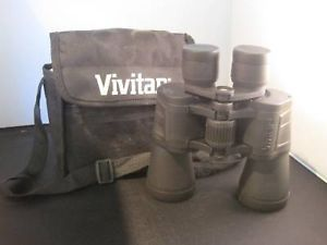 Vivitar Binoculars w Case and lens cover 7 x 50 297 feet at 1000 yards