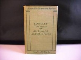 Vision of Sir Launfal other Poems 1905 Lowell hardcover