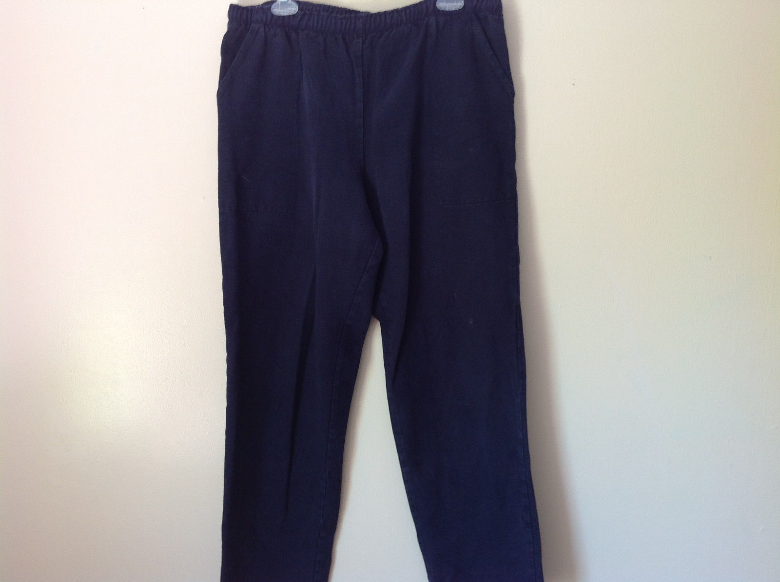 WEK by KellSport Dark Navy Blue Sweat Pants Elastic Stretchy Waistband Size M