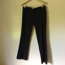 WY? Black Size 12 Striped Vertically Casual Pants Made in USA