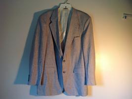 Barrington Gray Wool Suit Jacket with 100 Percent Silk Lining Measurements Below image 2