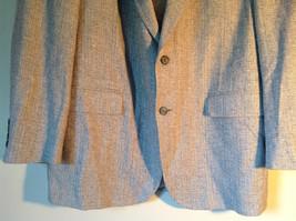 Barrington Gray Wool Suit Jacket with 100 Percent Silk Lining Measurements Below image 4