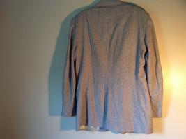 Barrington Gray Wool Suit Jacket with 100 Percent Silk Lining Measurements Below image 8