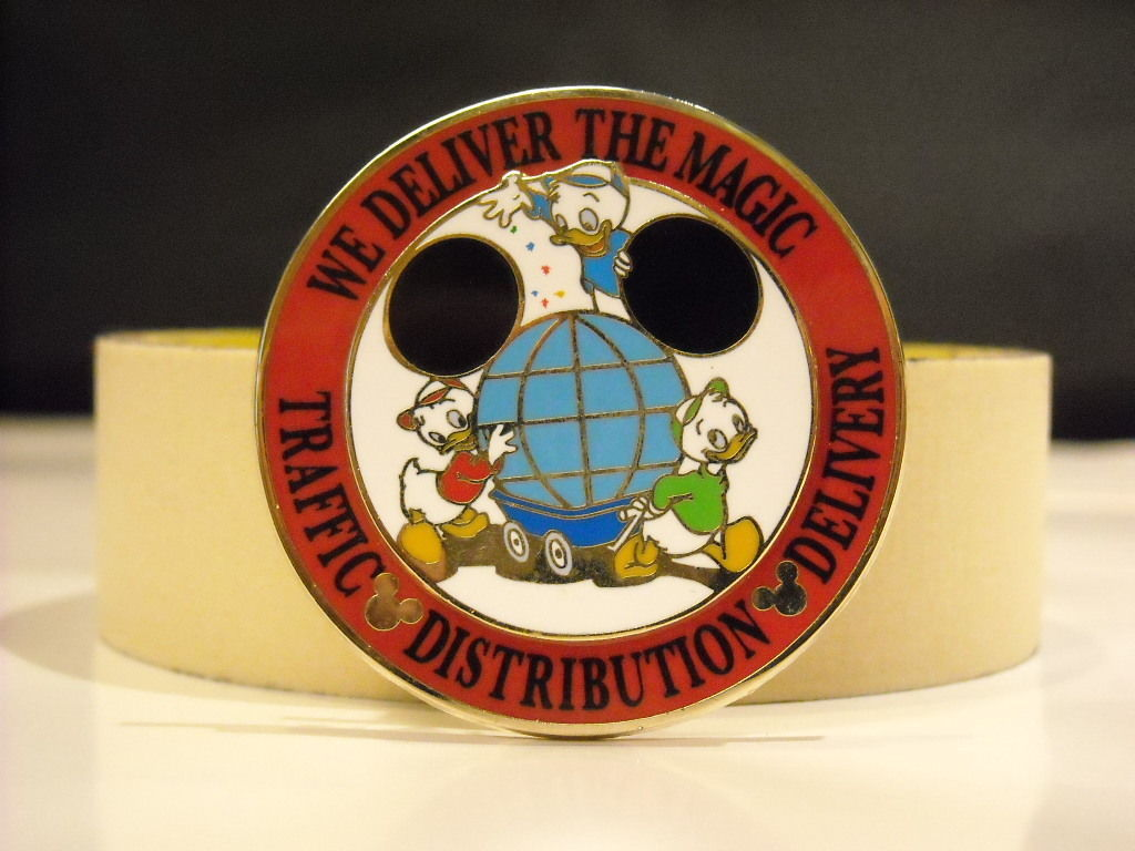 """We Deliver the Magic"" Disney Collector Trader Pin 2005"