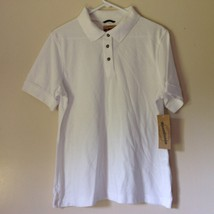 Wear Guard Size Large White Short Sleeve Polo Shirt Original Tag