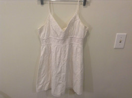 White Aeropostale Spaghetti Straps Top No Size Tag See Measurements Below