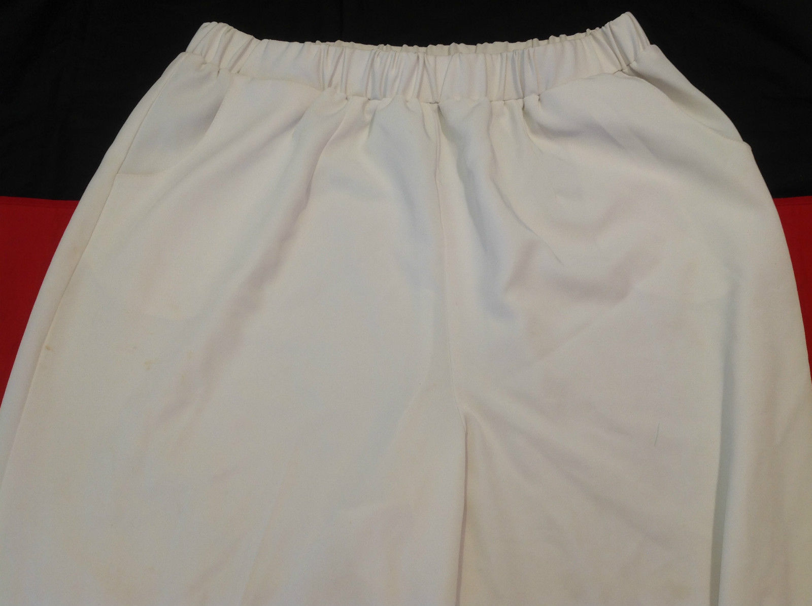 White Colored Dressbarn Womens Long Pants Size  16 Inch W 41 Inch L