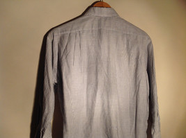 Sofia and Anne White Striped Long Sleeve Button Up Collared Dress Shirt image 5