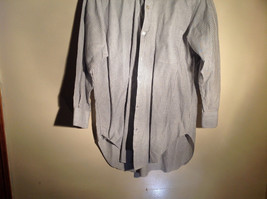 Sofia and Anne White Striped Long Sleeve Button Up Collared Dress Shirt image 2