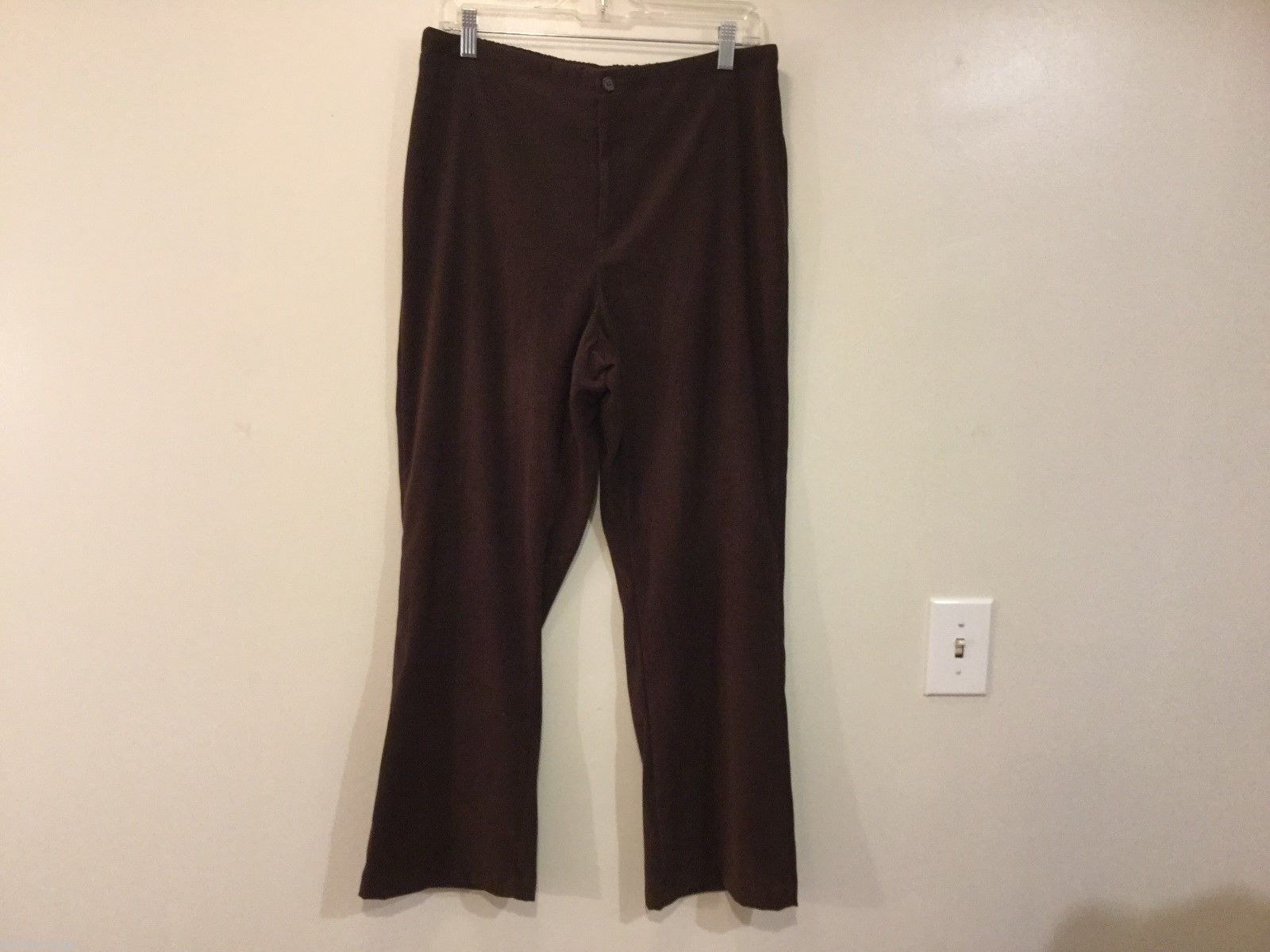 White Stag Womans Brown Pants, Size 14