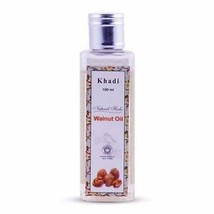 Khadi Natural Herbs Walnut Massage Oil Regenerate Mature Damaged Skin-100ml - $10.69