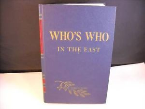 Whos who in the east 1962 1963 8th edition marquis