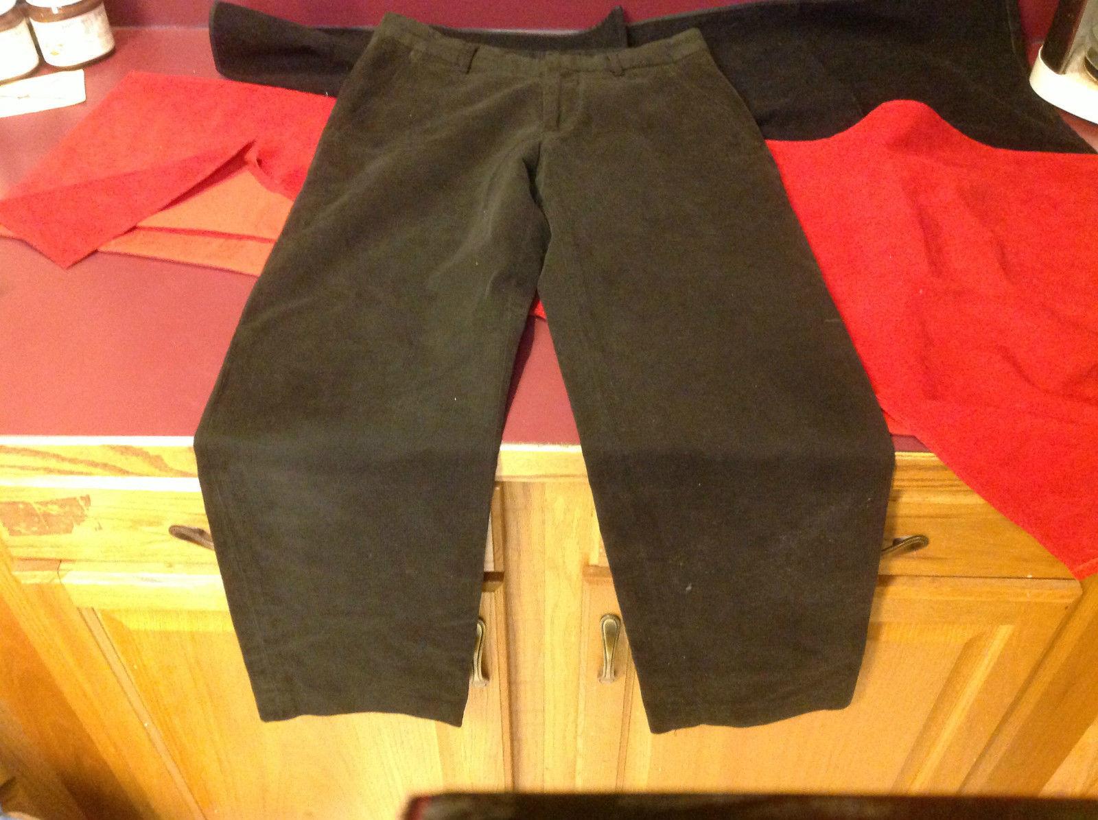 Womens Dark Gray Long Pants Banana Republic Size 29/32