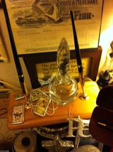 Wood Letter Desk Set Beautone w Desk Pen holder... - $34.64