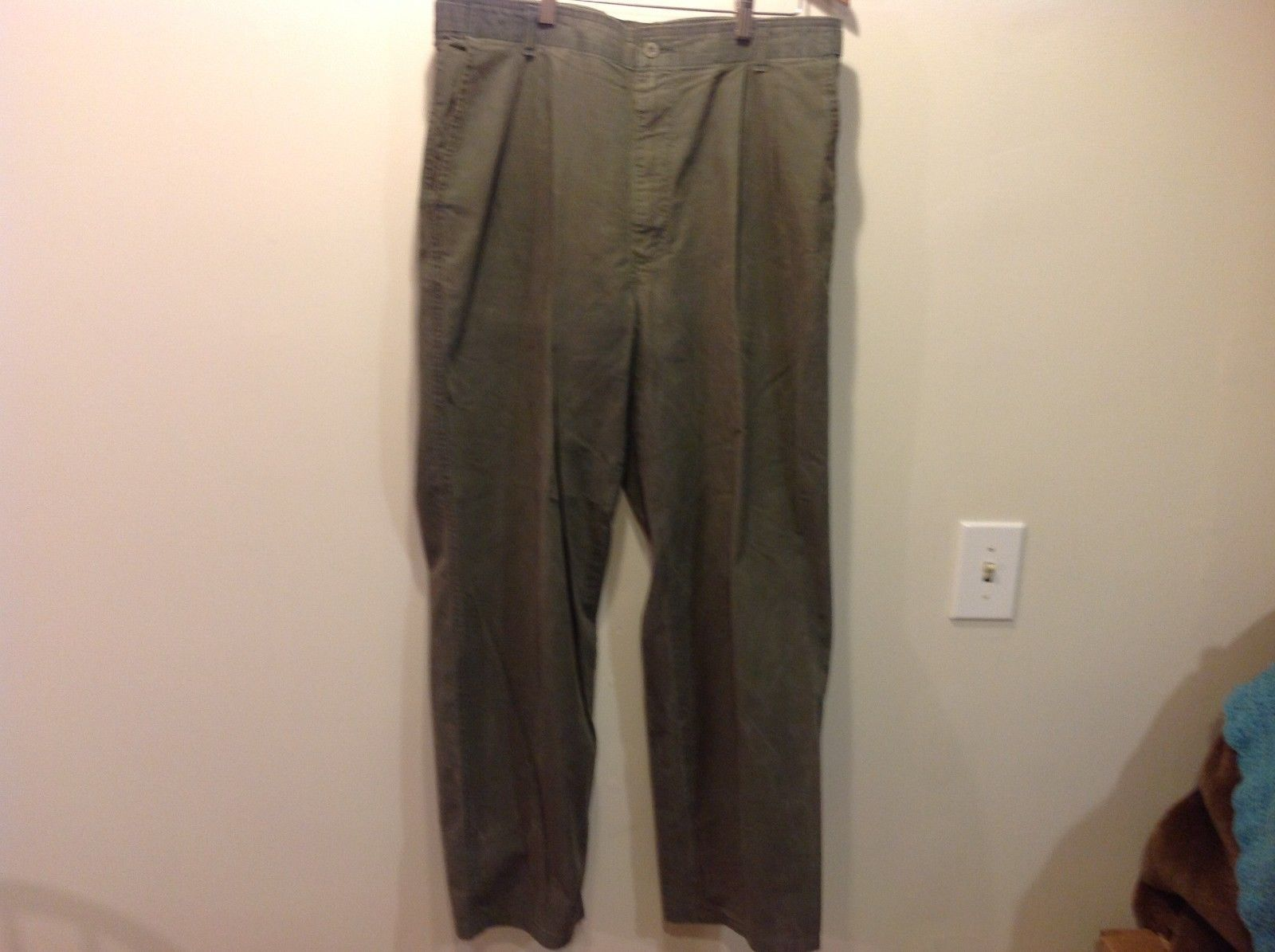 Women's green casual pants Dockers