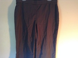 Style and Company Black Stretch Casual Pants Size 1X image 2