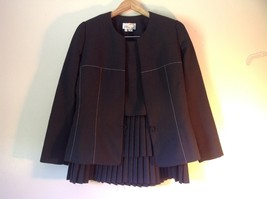 Beautiful Miri New York Black Jacket and Skirt Suit Size 14 Business or Formal image 3