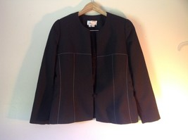 Beautiful Miri New York Black Jacket and Skirt Suit Size 14 Business or Formal image 4