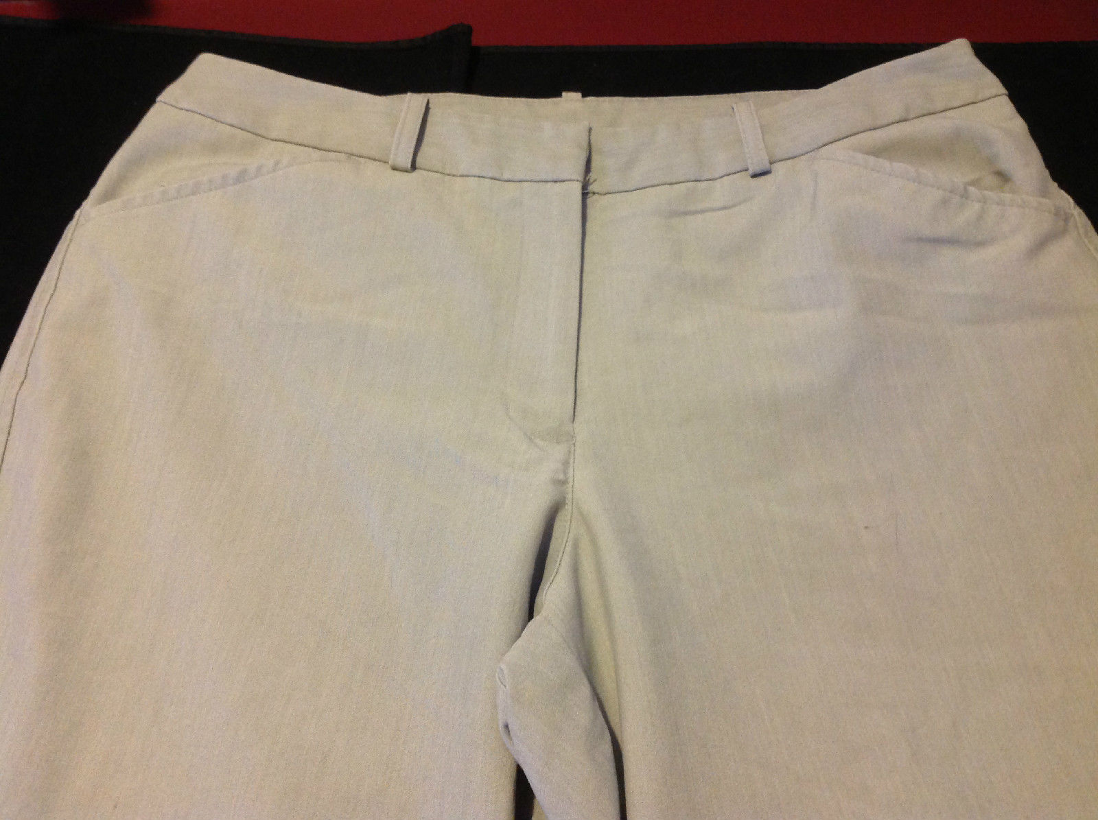 Worthington Ladies Heather Gray Long Pants Size 14