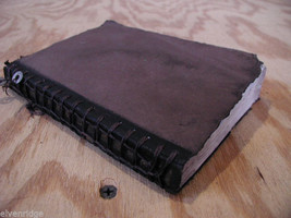 Worn Brown Handmade stitched Book Journal Sketchbook