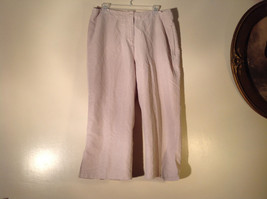 Woolrich Size 14 White Gray Pattern Capri Pants Good Condition