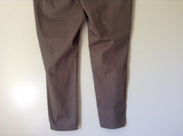 Style and Company Brown Casual Pants Stretchy Waist Back Pockets Size XL image 6