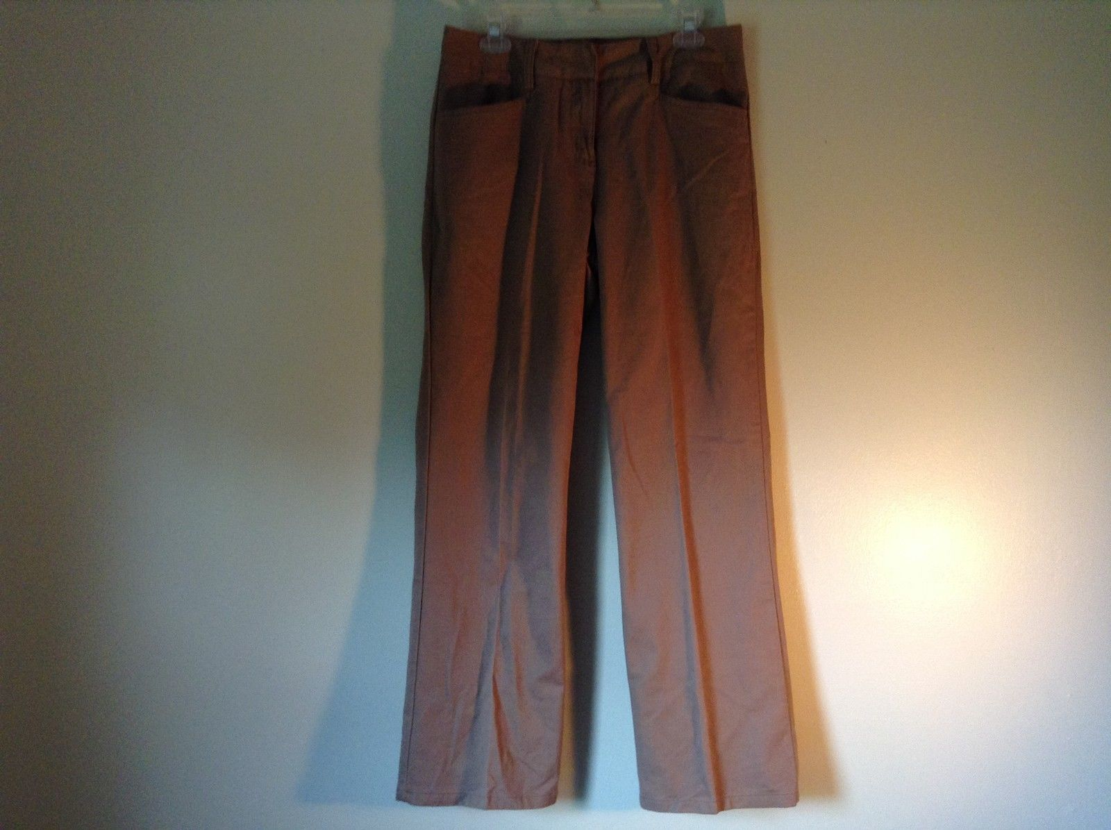 Wrinkle Free Size 8 Christopher and Banks Brown Jeans