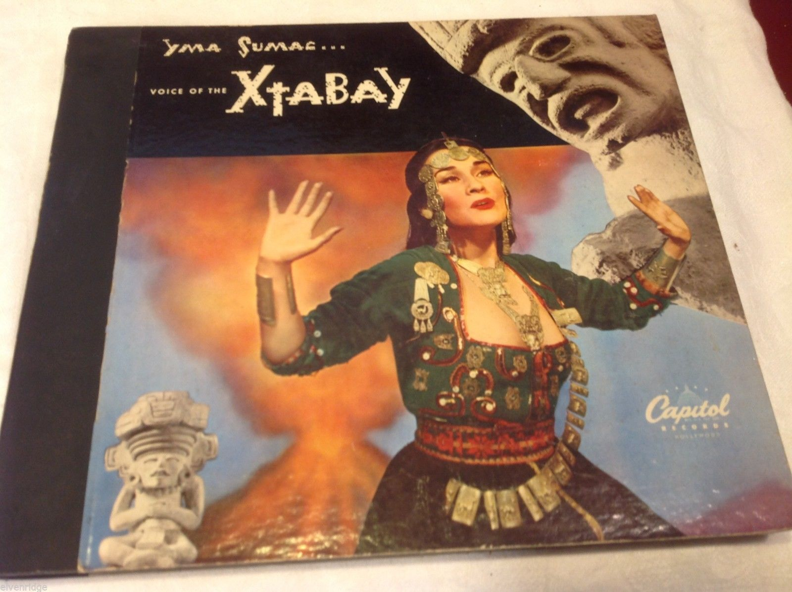Yma Suman Xtabay vintage record set in original sleeves and slipcover