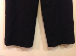 Talbots Plain Black 100% Wool Pants Fully Lined NO Pockets Size 12 Made in Japan image 8