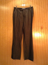 Zara Woman Black Casual Pants Size 8 Two Front and Two Back Pockets Zipper