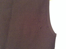 Belldini Brown Square Neck Sleeveless Top Size M Stretch Fabric image 8