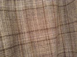 Tan Light Brown Plaid Talbots Petite Stretch Size 14 Lined Pants Side Zipper image 3
