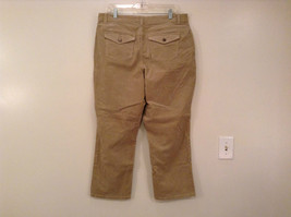 Tan L A Blues Velvet Jeans Size 18WS Zipper and Button Closure Pockets image 2