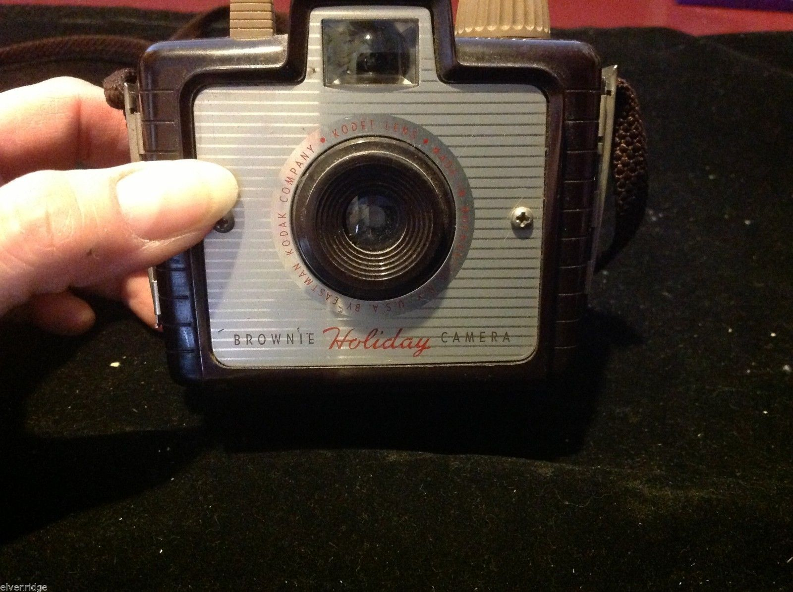brownie vintage holiday camera by Kodak