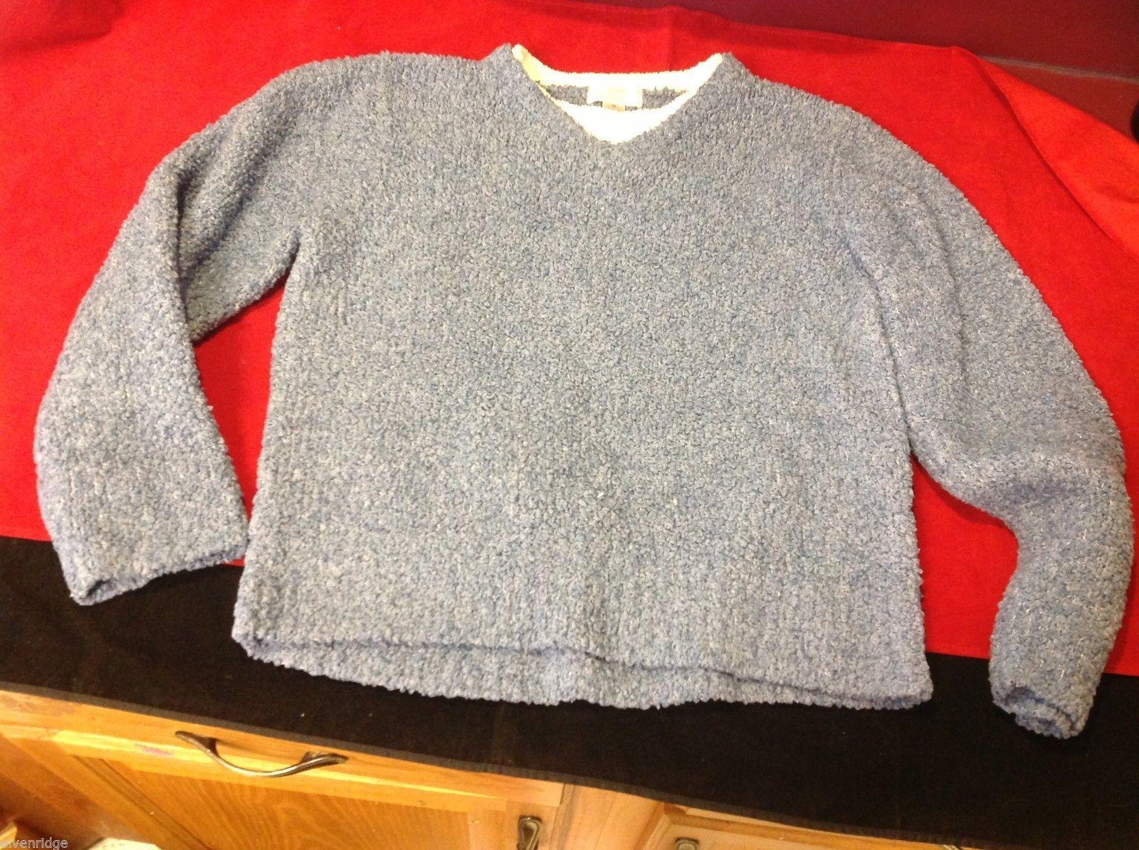 cozy Christopher & Banks blue sweater medium