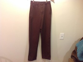 dockers brown slacks pants 100 % cotton casual