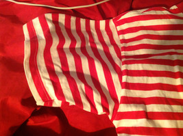 The Disney Store Red/White Striped Shirt with Grumpy the Dwarf on Front Size M image 7