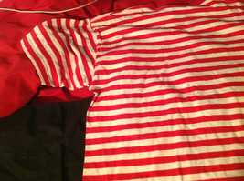 The Disney Store Red/White Striped Shirt with Grumpy the Dwarf on Front Size M image 4